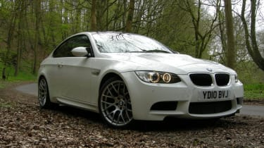 BMW M3 Competition low right static
