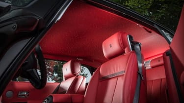 Rolls-Royce Phantom Chicane Coupe red starlight roof