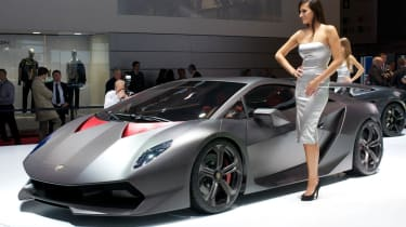 Lamborghini Sesto Elemento carbonfibre supercar