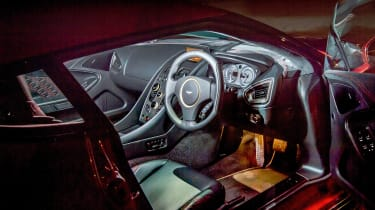 Aston Martin Vanquish Zagato interior