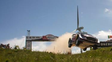 WRC Rally Portugal 2017 - M Sport Ford 3