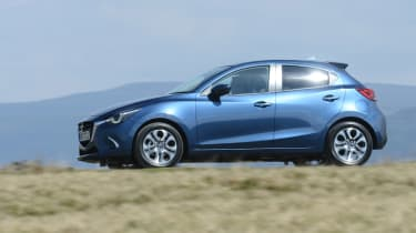 2017 Mazda 2 - blue dynamic
