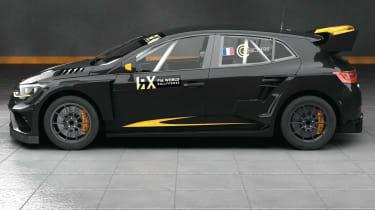Prodrive Megane Supercar WRX - side profile