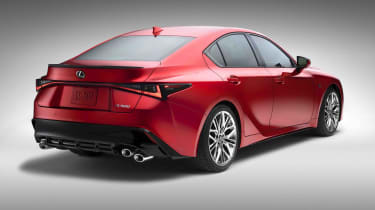 Lexus IS500 F Sport - rear quarter2