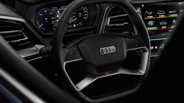Audi Q4 e-tron Sportback – steering wheel
