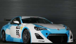 Toyota GT86 GT4 racing car