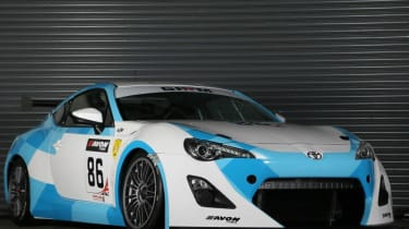Toyota GT86 GT4 racing car