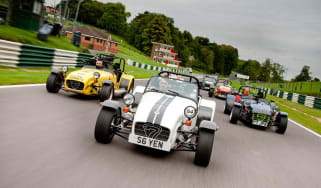 Caterham Seven celebration