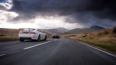 Jaguar/Maserati twin test - driving