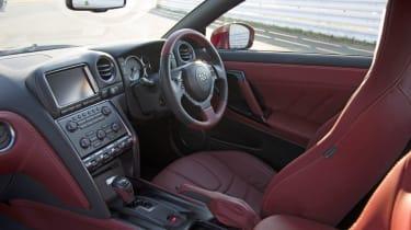 Nissan GT-R 2014 interior