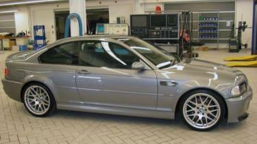 BMW M3 CSL side