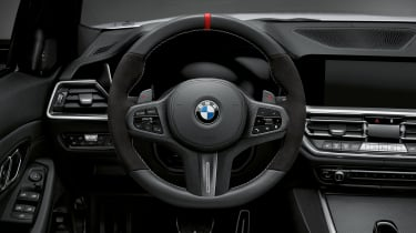 BMW M Performance parts steering wheel