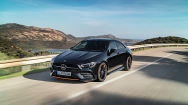 Mercedes CLA 2019 revealed - front quarter