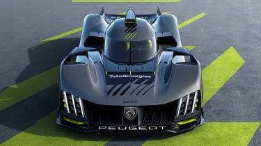 Peugeot 9X8 – tail
