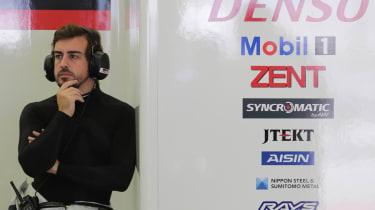 Fernando Alonso WEC