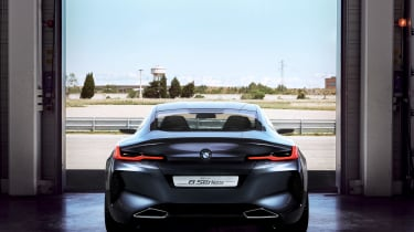 BMW 8-series concept - rear
