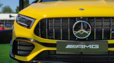 Mercedes-AMG A45 Goodwood 2019 grille