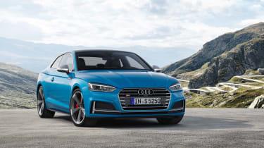Audi S5 TDI - front