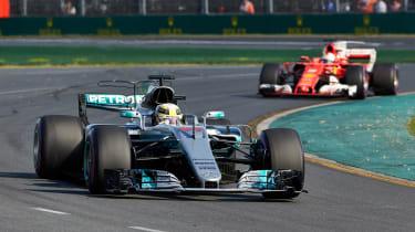 Mercedes-Petronas Melbourne 2013