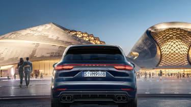 Porsche Cayenne – rear