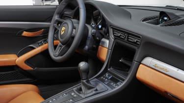 Porsche 911 Speedster - interior