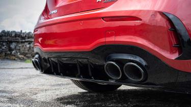 Hot hatchback triple – exhausts quads