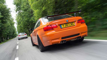 M3 GTS rear moving