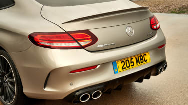 Mercedes-AMG C43 Coupe 2018 review - rear
