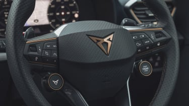 Cupra Formentor 300TSI VZ2 - steering wheel