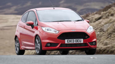 Ford Fiesta ST red