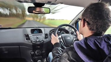 2013 Ford Fiesta Ecoboost interior