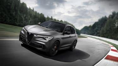 Alfa Romeo Stelvio QV NRING - front