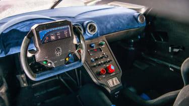 Maserati MC12 Versione Corse interior