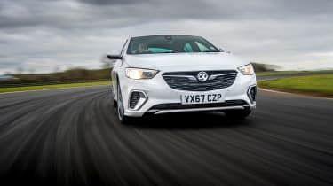 Vauxhall Insignia Grand Sport GSi BiTurbo – front