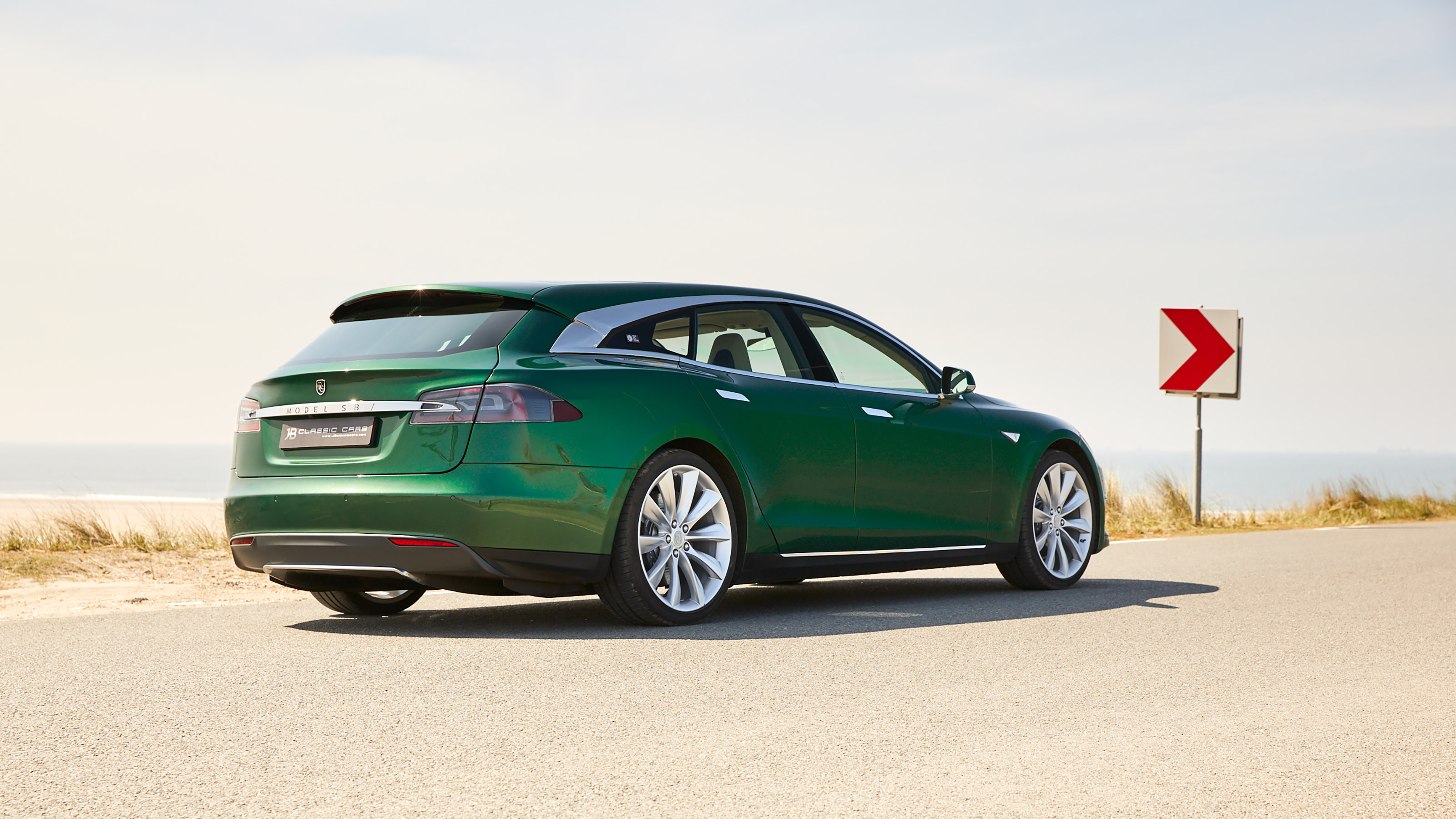 The one-off Tesla Model S Shooting Brake is already for sale