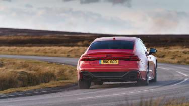Audi RS7 red - corner