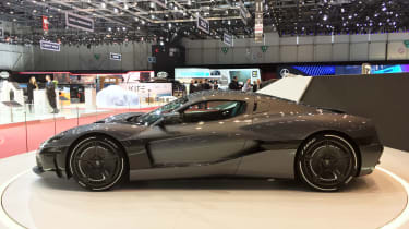 Rimac C_Two - side show