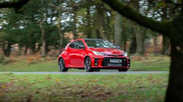 2020 Toyota GR Yaris Red - nose 2