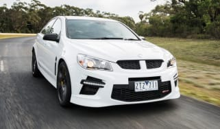 Vauxhall VXR8 GTS white front
