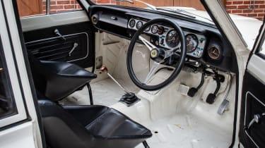 1966 Lotus Cortina Group 5 interior