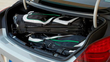 BMW 6-series Gran Coupe boot space
