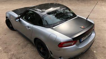Abarth 124 GT static rear