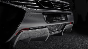 MSO McLaren 650S carbon rear diffuser