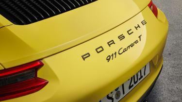 Porsche 911 Carrera T - badge