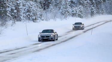 BMW Z4 mule - road