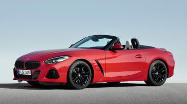 BMW Z4 M40i red -