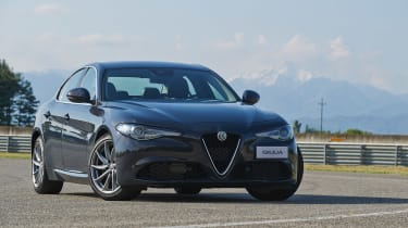 Alfa Romeo Giulia - Front static