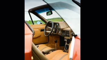Lamborghini Silhouette - interior