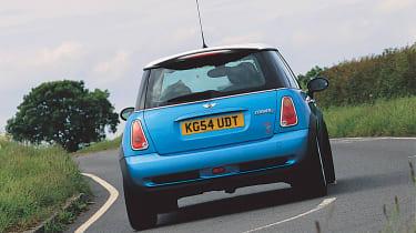 Mini Cooper S R53 - rear