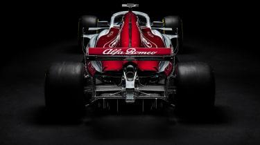 Sauber Alfa Romeo 2018 car - rear